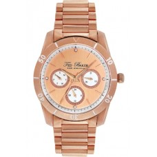 Ted Baker Rose Gold Crystal Set  Multi Dial Watch
