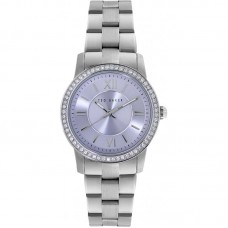 Ted Baker Silver Stone Set Watch