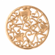 Nikki Lissoni El Amor Baroque Hearts Lady's Gold 33mm Coin
