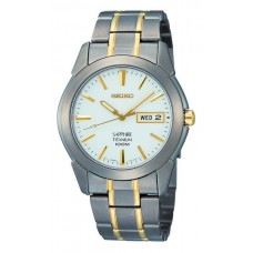 Gents Seiko titanium bracelet watch