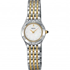 Seiko Women's SUJC47P9 Diamond set  Solar Quartz Two Tone Watch