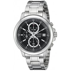 Seiko Gents Chrono stainless steel Quartz Watch SKS445P1